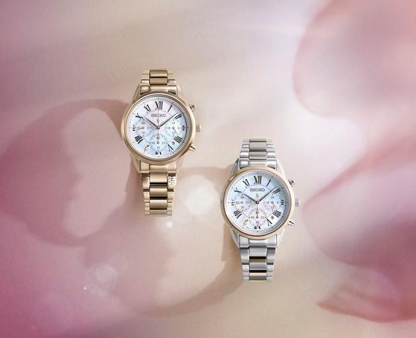 SEIKO 精工 LUKIA太陽能計時女錶(SSC822J1) V175-0EX0G 廣告款/現貨