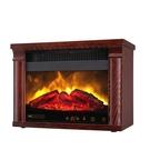 【Winntec 火焰山】3D擬真原木電暖爐WIN-H001(三色可選)