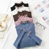 新款秋冬套頭修身長袖毛衣打底衫加厚半高領針織衫女潮 卡卡西