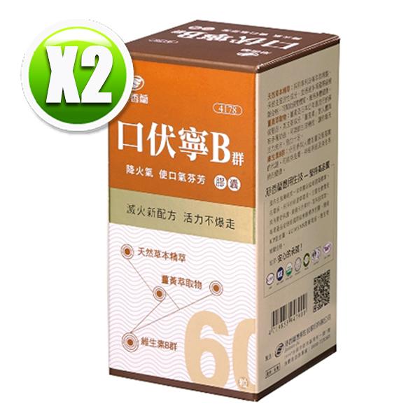 港香蘭 口伏寧B群膠囊(60粒/瓶)×2