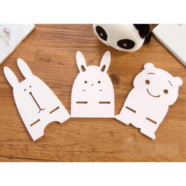 [24hr-現貨快出][賠本下殺]創意 手機座 創意 可愛 卡通 兔子 小熊 貓 萌 懶人 手機 支架 diy 桌面