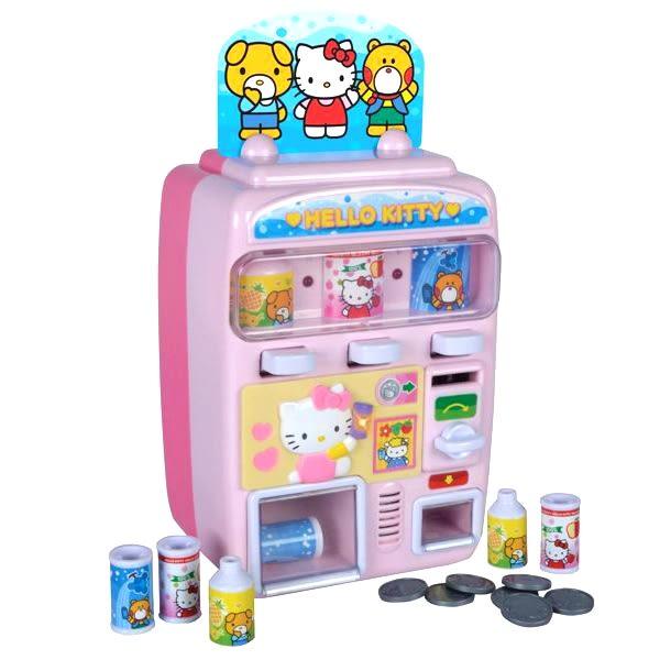 《 HELLO KITTY 凱蒂貓 》自動販賣機╭★ JOYBUS玩具百貨