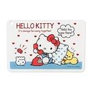【震撼精品百貨】Hello Kitty_凱蒂貓~Sanrio HELLO KITTY日本製燙金鑲飾卡片套(甜蜜熱線)#66229