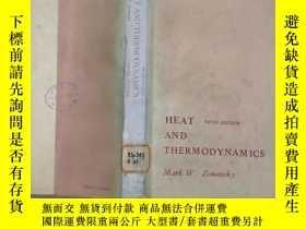 二手書博民逛書店HEAT罕見AND THERMODYNAMICS熱與熱力學(英文