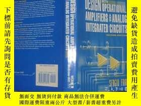 二手書博民逛書店Design罕見With Operational Amplifi