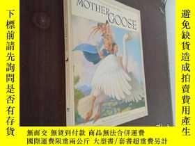 二手書博民逛書店Favorite罕見Nursery Rhymes from Mother Goose 原版兒童英語詩歌韻語【12開