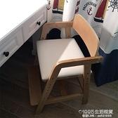 兒童餐椅寶寶家用升降吃飯成長椅子加高可調節高腳凳飯店實木座椅 1955生活雜貨NMS