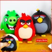 〖LifeTime〗﹝憤怒鳥捏捏鑰匙圈﹞正版吊飾 鑰匙扣 捏捏紓壓 軟質捏捏樂 Angry Birds B17049
