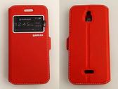 gamax InFocus M2 3G/M2 4G/M2 4G/M2+ 磁扣側翻式手機套 內TPU軟殼 全包防摔 視窗商務系列