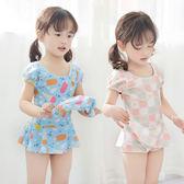 兒童泳衣 短袖泳裝 連體/平角褲/公主裙式泳裝-交換禮物