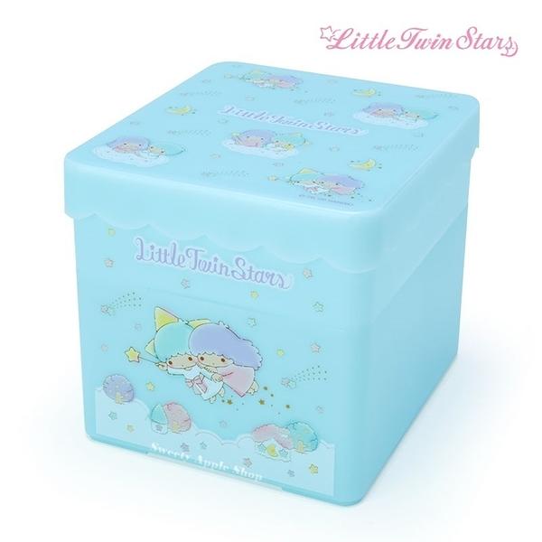 【SAS】日本限定 三麗鷗 KIKILALA 雙子星 小物分隔收納盒 / 儲物盒 / 收納箱 / 美妝用品收納盒