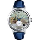 梵谷Van Gogh Swiss Watch小秒盤梵谷經典名畫女錶 C-SLLF-22 船