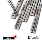 KIYODO不鏽鋼銀砂筷5雙