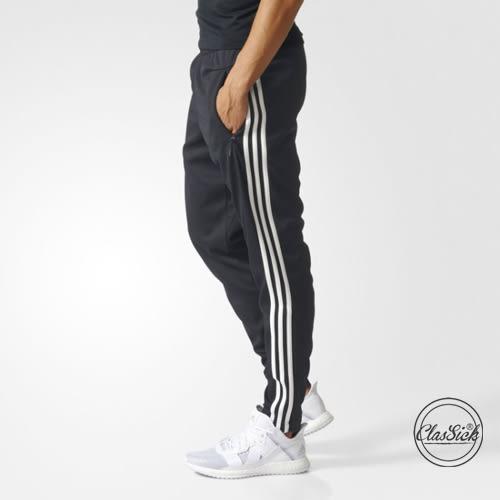【現貨折券後1999】CLASSICK Adidas 愛迪達 TIRO 3STRIPES 三條 窄版 黑白 黑色 運動褲 BS4957
