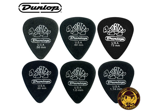 【小麥老師樂器館】PICK 彈片 4880 Dunlop 小烏龜 木吉他 烏克麗麗 電吉他 (6片組)