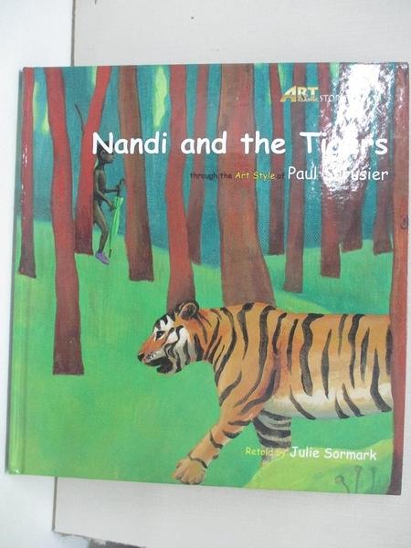 【書寶二手書T1/少年童書_DS5】Nandi and the tigers_original Korean text by Jinrak Kim