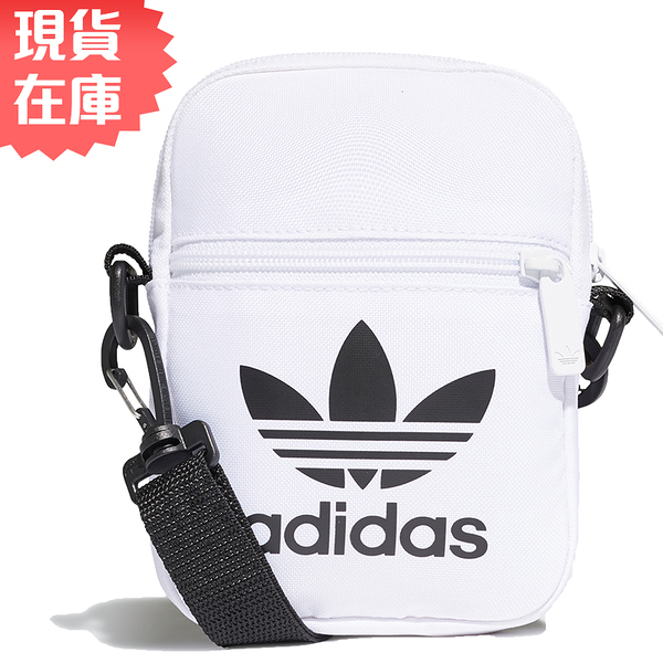 【現貨】ADIDAS TREFOIL FESTIVAL 側背包 休閒 潮流 白【運動世界】FS6007