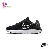 NIKE運動鞋 女鞋 慢跑鞋 跑步鞋 路跑 訓練鞋 LEGEND REACT 3 Q7003#黑白◆OSOME奧森鞋業
