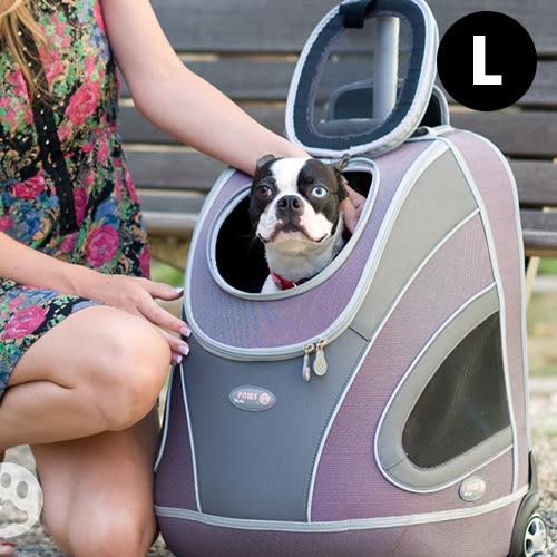 外出籠 寵物外出二輪拉桿箱 寵物推車 外出貓籠狗籠 寵物用品 瘋狂爪子《生活美學》