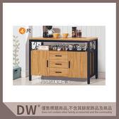 【多瓦娜】19058-716001 鋼克里4尺餐櫃(1611)