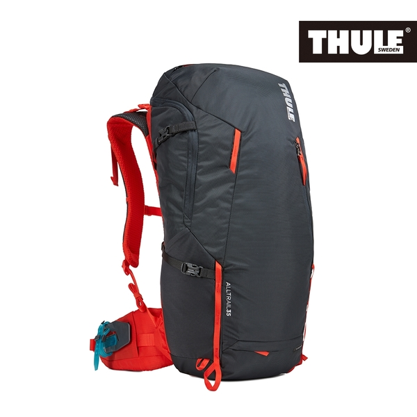 THULE-AllTrail系列35L男用登山包-曜石黑