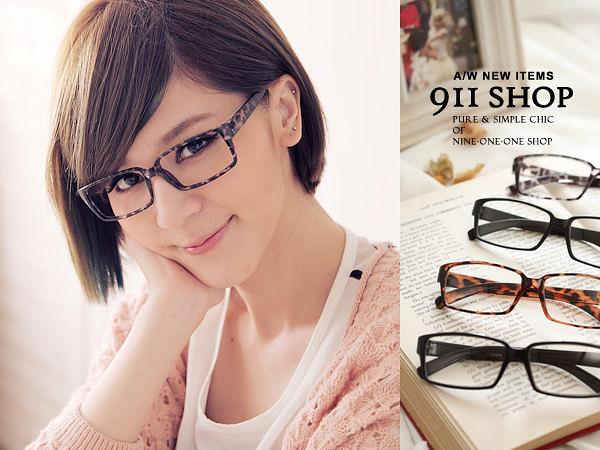Groovy‧簡約百搭方形框平光眼鏡 。MIT台灣製【ob850】*911 SHOP*