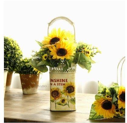 歐式提手花瓶含花-RE511