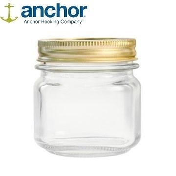 美國 Anchor MASON Jar梅森玻璃罐 236ml A-10984