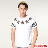 【BOBSON】男款印圖上衣 (27014-80)