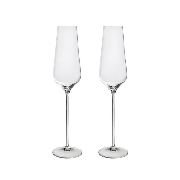 斯洛維尼亞 Rogaska Aurea S/2 Champagne Flute 250ml 2pcs 極光奧瑞亞系列 手工無鉛水晶 香檳杯 兩件組