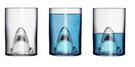 個性創意搞怪烈酒鯊魚杯啤酒杯紅酒杯雙層玻璃