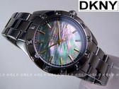 【時間光廊】DKNY 鐵灰色 珍珠母貝面板 紐約摩登風 女錶 全新原廠 NY8662