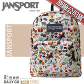 JANSPORT後背包包大容量JS-43501-0KN兒時貼紙