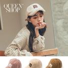 Queen Shop【07020574】QQ毛m字棒球帽 三色售*現+預*