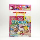 日本PILOT水畫冊-kitty 4枚入 1.5歲以上  (0503) 外出攜帶方便 用餐好物 -超級BABY