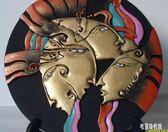 炭雕工藝品抽象現代藝術品異域民族部落風情禮品家居裝飾品小擺件zh1337『東京潮流』