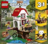 【LEGO樂高】 CREATOR 樹屋珍寶 #31078