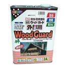 日本Asahipen油性室外木品防蟲腐防霉清漆3.4L