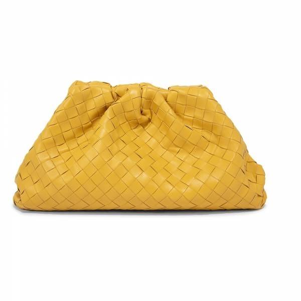 ■專櫃83折■全新真品■Bottega Veneta大款編織雲朵包 Butter Cup 金鳳花黃