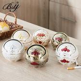 歐式復古創意鋅合金球形帶蓋金屬煙灰缸時尚個性家居辦公桌面家用
