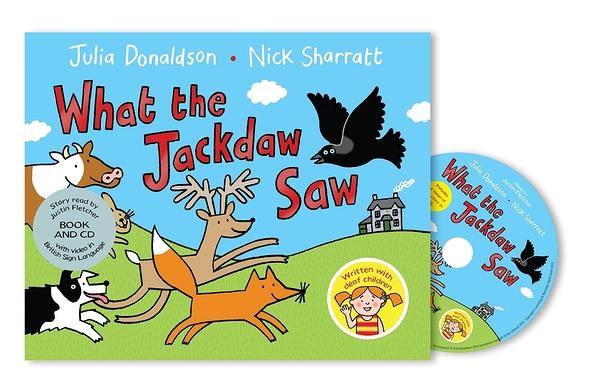 What The Jackdaw Saw 烏鴉的手語體驗 CD平裝繪本
