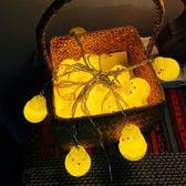 小彩燈裝飾串燈彩燈閃燈串燈滿天星夢幻少女心浪漫創意小黃雞燈泡 igo