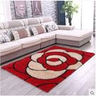 加密加厚韓國絲亮絲圖案地毯客廳茶幾地毯臥...