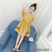連衣裙韓版洋氣兒童夏季裙子