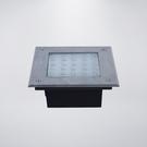 戶外防水地底燈 附LED25粒 附預埋筒