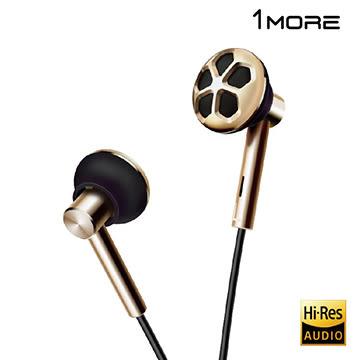 贈萬魔小熊 創新聲學陶瓷雙單元 - 1MORE E1008 雙單元耳塞式耳機 (周杰倫合作款,原廠公司貨)