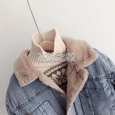 兒童加絨牛仔服2021冬季男女童兔絨保暖棉衣中小童加厚牛仔外套