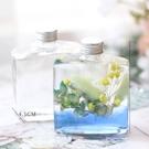 浮游花瓶,弧形方瓶,270M(不包含花材)