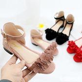 女童涼鞋 夏季新款正韓兒童女學生涼鞋小高跟公主涼鞋 米蘭shoe