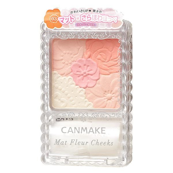 Canmake 花漾戀愛修容組(霧面) 973-03